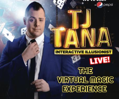 Virtual Magic Show on Jan. 30