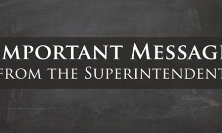 Superintendent Statement Regarding Student Passing