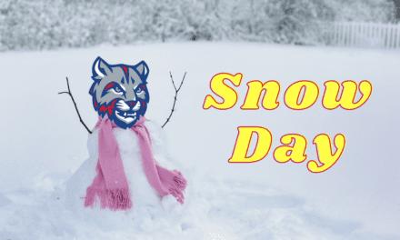 School Closed, Tuesday Feb. 2