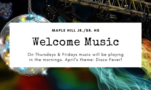 Welcome Music: April is Disco Fever
