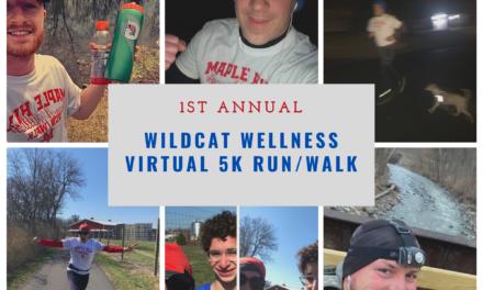 Inaugural Wildcat Wellness Virtual 5k Run/Walk Held