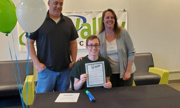 Nate Shader Signs Letter of Intent