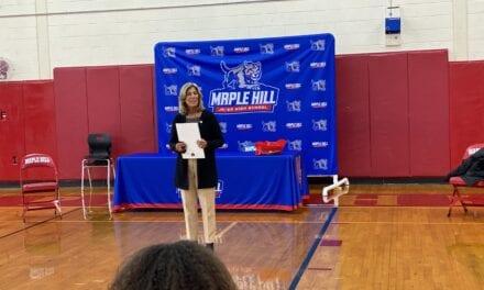 Senator Jordan Honors Girls Soccer Program