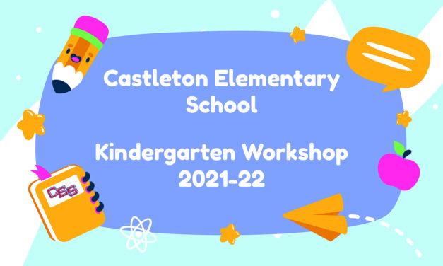 Incoming Kindergarten Workshop Presentation