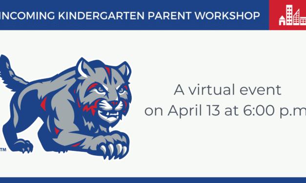 Incoming Kindergarten Parent Workshop