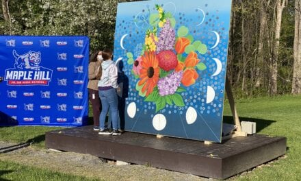 United Way's COVID-19 Mural Comes to MH