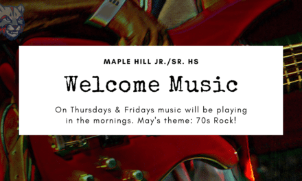 Welcome Music: May is 70s Rock
