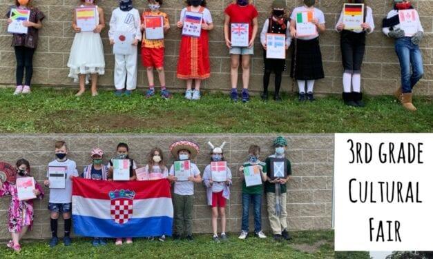 Third Grade Completes Cultural Fair