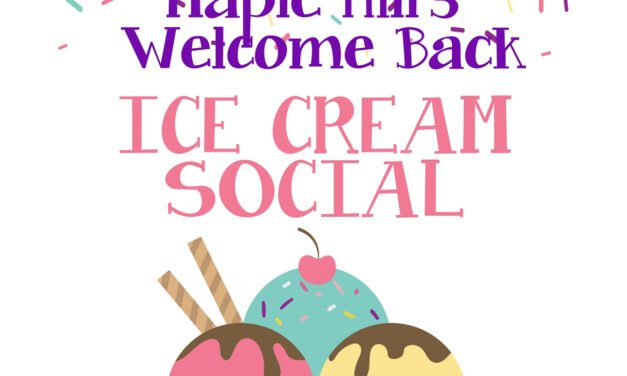 Maple Hill Welcome Back Ice Cream Social is Aug. 26