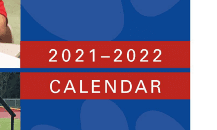 Revised 2021-2022 Monthly Calendar Now Online